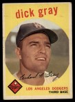 1959 Topps #244   Dick Gray Front Thumbnail
