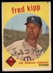 1959 Topps #258   Fred Kipp Front Thumbnail