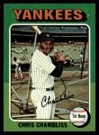 1975 Topps #585  Chris Chambliss  Front Thumbnail