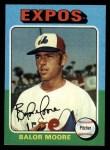 1975 Topps #592  Balor Moore  Front Thumbnail