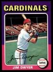1975 Topps #429  Jim Dwyer  Front Thumbnail
