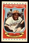 1973 Kelloggs 2D #42   Manny Sanguillen Front Thumbnail