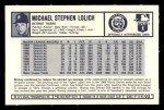 1973 Kelloggs 2D #3  Mickey Lolich  Back Thumbnail