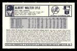 1973 Kelloggs 2D #15   Sparky Lyle Back Thumbnail