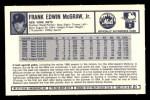 1973 Kelloggs 2D #21  Tug McGraw  Back Thumbnail