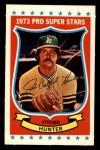 1973 Kelloggs 2D #20  Catfish Hunter  Front Thumbnail