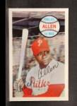 1970 Kelloggs #33   Rich Allen  Front Thumbnail