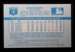 1970 Kelloggs #43  Glenn Beckert   Back Thumbnail