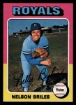 1975 Topps #495  Nelson Briles  Front Thumbnail