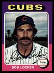 1975 Topps #434   Bob Locker Front Thumbnail