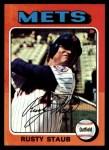 1975 Topps #90  Rusty Staub  Front Thumbnail