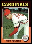 1975 Topps #98  Rich Folkers  Front Thumbnail