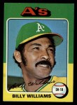 1975 Topps #545  Billy Williams  Front Thumbnail