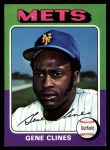 1975 Topps #575   Gene Clines Front Thumbnail