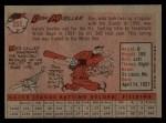 1958 Topps #253   Don Mueller Back Thumbnail