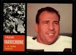 1962 Topps #83  Frank Varrichione  Front Thumbnail