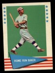 1961 Fleer #6  Home Run Baker  Front Thumbnail