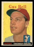 1958 Topps #75   Gus Bell Front Thumbnail