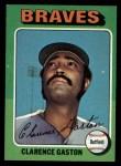 1975 Topps #427  Cito Gaston  Front Thumbnail