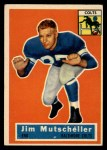 1956 Topps #72  Jim Mutscheller  Front Thumbnail