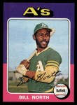 1975 Topps #121   Bill North Front Thumbnail