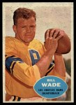 1960 Topps #61  Bill Wade  Front Thumbnail