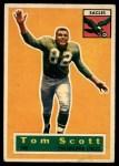 1956 Topps #112   Tom Scott Front Thumbnail
