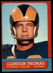 1963 Topps #131   Clendon Thomas Front Thumbnail