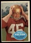 1960 Topps #129   Ralph Felton Front Thumbnail