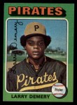 1975 Topps #433   Larry Demery Front Thumbnail