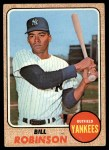 1968 Topps #337   Bill Robinson Front Thumbnail