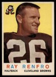 1959 Topps #37  Ray Renfro  Front Thumbnail
