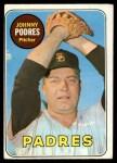 1969 Topps #659  Johnny Podres  Front Thumbnail