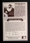 1972 Kellogg All Time Greats #14  Babe Ruth  Back Thumbnail