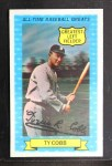 1972 Kellogg All Time Greats #15  Ty Cobb  Front Thumbnail