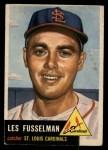 1953 Topps #218  Les Fusselman  Front Thumbnail