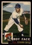 1953 Topps #246   Roy Face Front Thumbnail