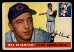 1955 Topps #56 COR Ray Jablonski  Front Thumbnail