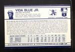 1972 Kelloggs #9 ERR  Vida Blue Back Thumbnail