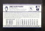 1972 Kelloggs #13 ERR  Jim Palmer Back Thumbnail