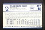 1972 Kelloggs #51   Don Wilson Back Thumbnail