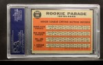 1962 Topps #596  Rookie Parade - Infielders  -  Bernie Allen / Rich Rollins / Phil Linz / Joe Pepitone Back Thumbnail