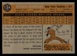 1960 Topps #134   -  Deron Johnson Rookies Back Thumbnail