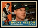 1960 Topps #157   Rocky Nelson Front Thumbnail
