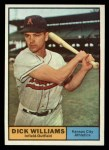 1961 Topps #8   Dick Williams Front Thumbnail