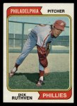 1974 Topps #47   Dick Ruthven Front Thumbnail