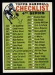 1964 Topps #274  Checklist 4  Front Thumbnail