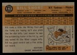 1960 Topps #142  Rookies  -  Bill Short Back Thumbnail