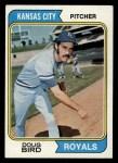 1974 Topps #17   Doug Bird Front Thumbnail
