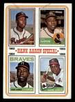 1974 Topps #4  Hank Aaron Special 62-65  -  Hank Aaron Front Thumbnail